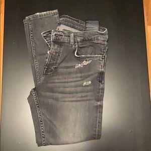 Zara man skinny tapered stretch jeans